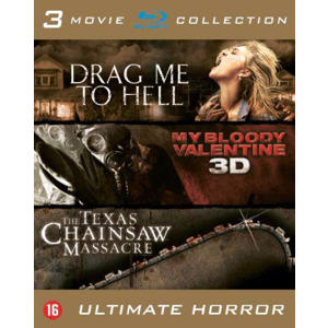 Drag me to hell/My bloody valentine/Texas chainsaw massacre (Blu-ray)