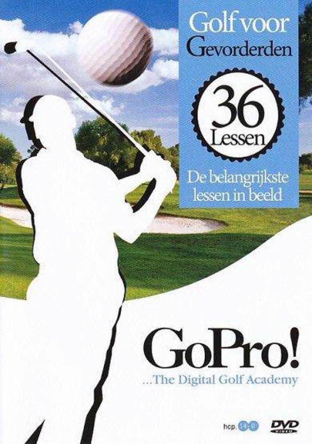 GoPro - De 36 belangrijkste golflessen in beeld gevorderden (DVD)
