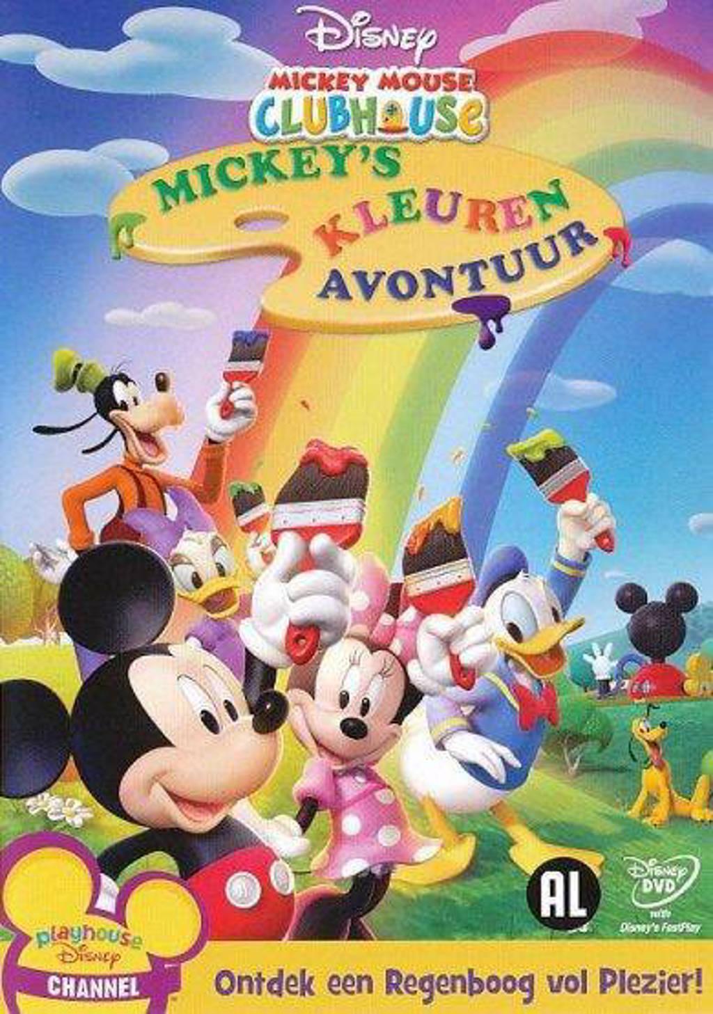 Mickey Mouse Clubhouse - Mickey's Kleuren Avontuur (DVD)