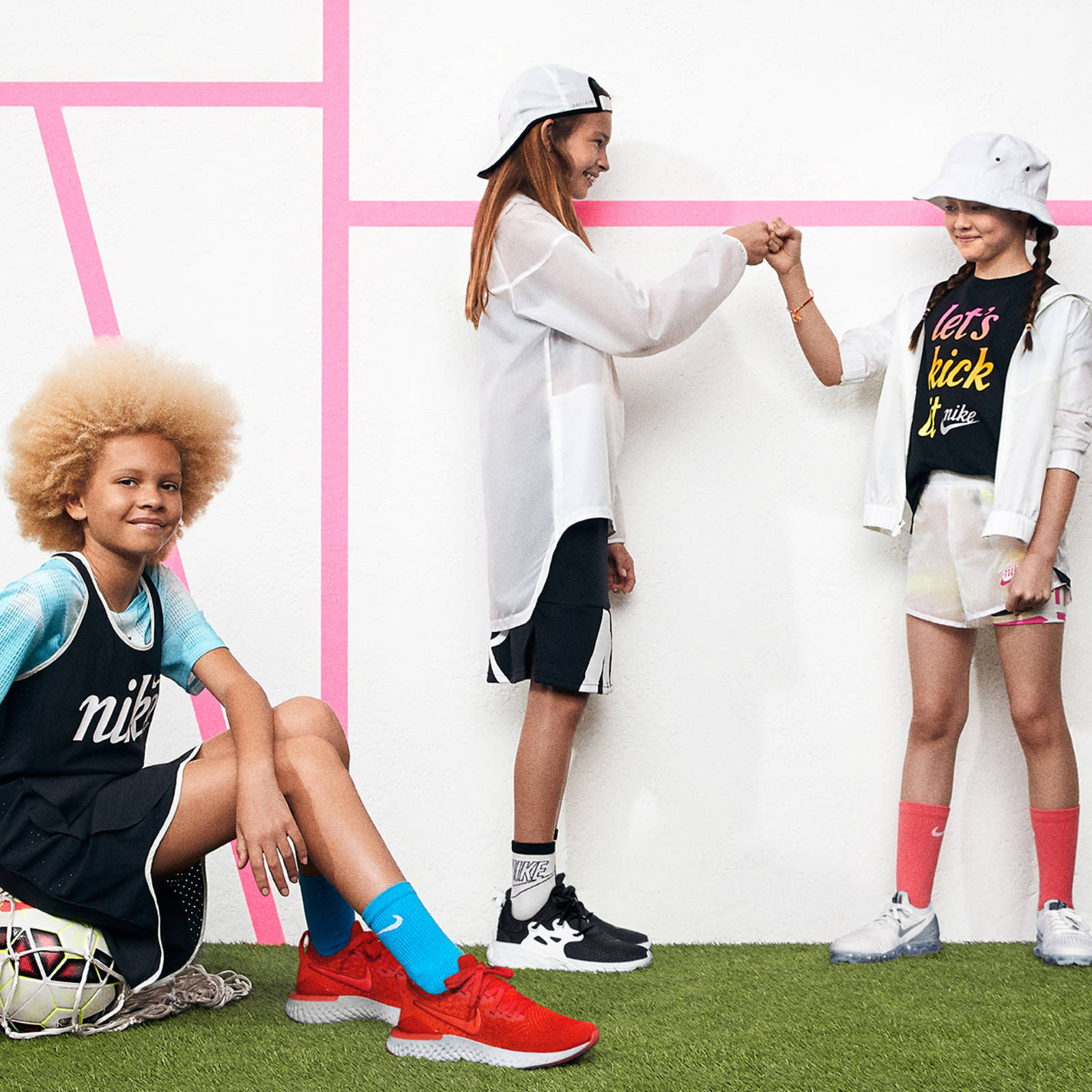 Nike kids Content Block