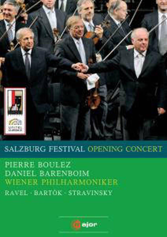 Wiener Phil. Daniel Barenboim - Salzburg Festival Opening Concert08 (DVD)