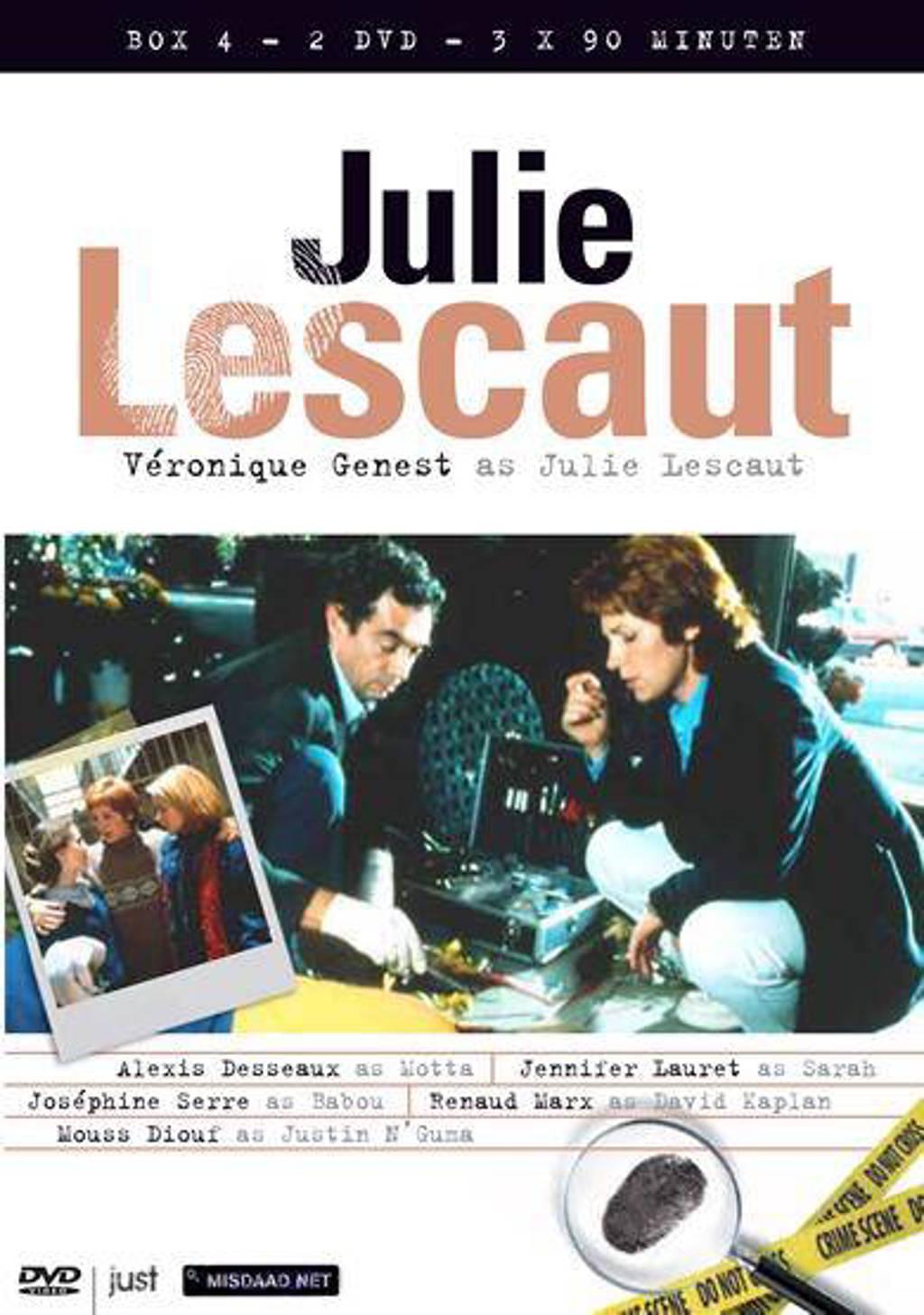 Julie Lescaut box 4 (DVD)