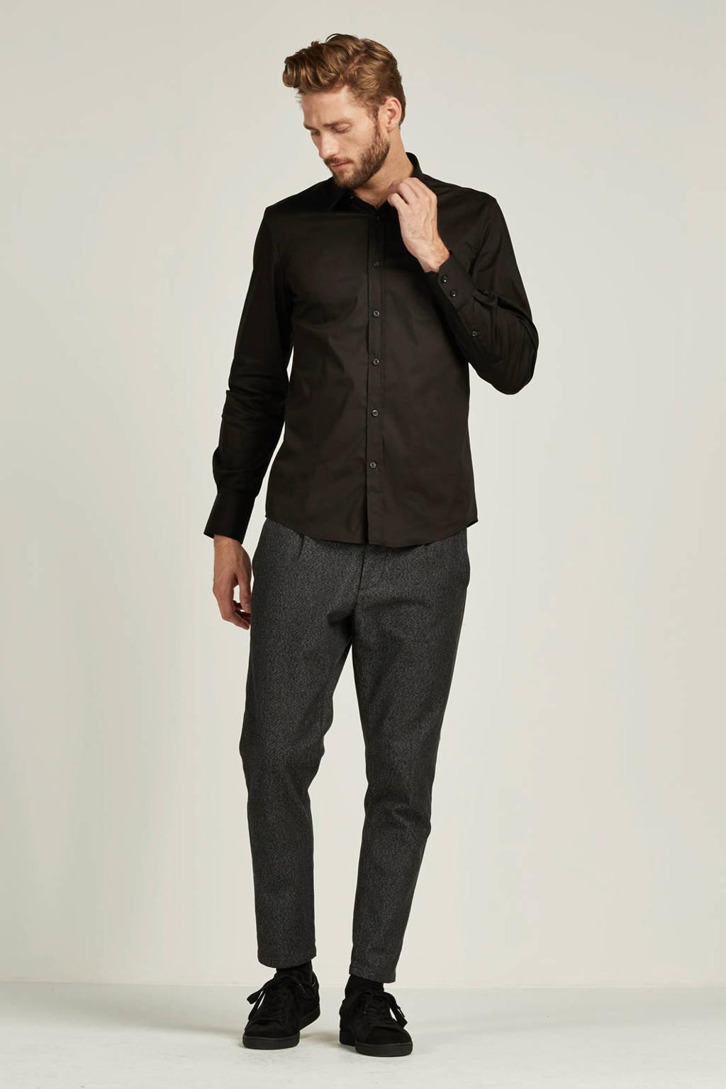 Antony Morato super slim fit overhemd, Zwart