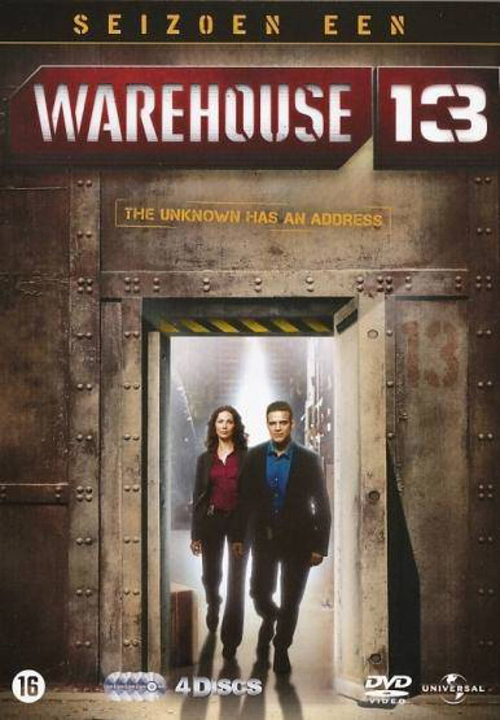 Warehouse 13 - Seizoen 1 (DVD)