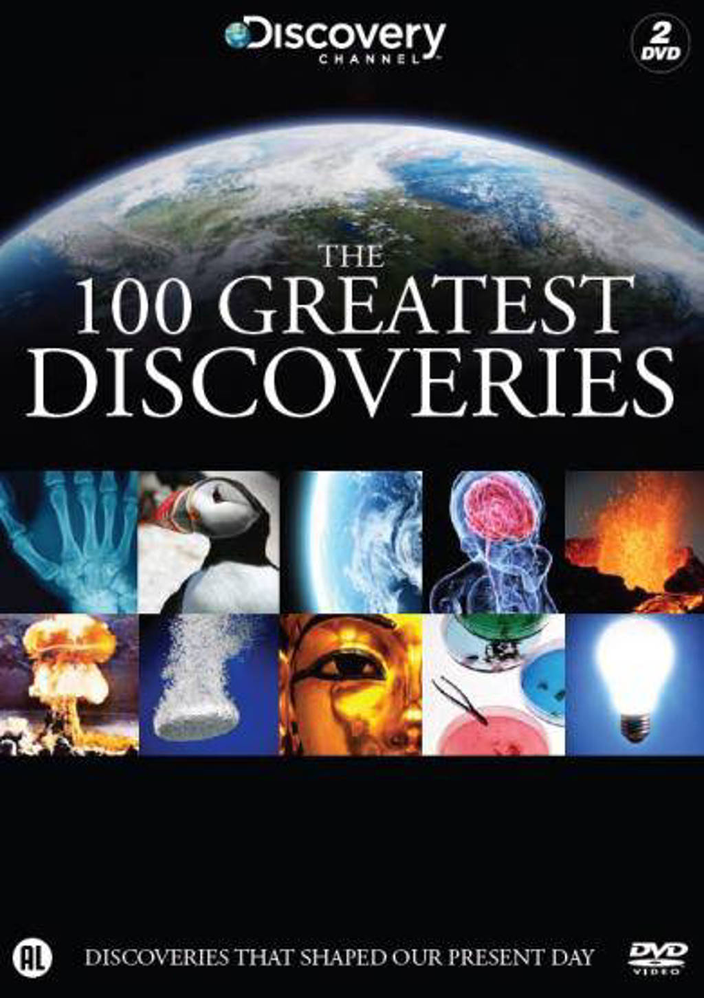 100 greatest discoveries (DVD)
