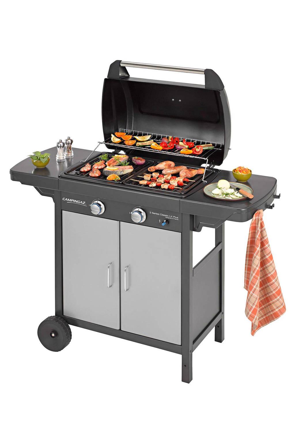 Campingaz 2 Series Classic LX Plus gasbarbecue, 2 series Classic LX plus, Grijs