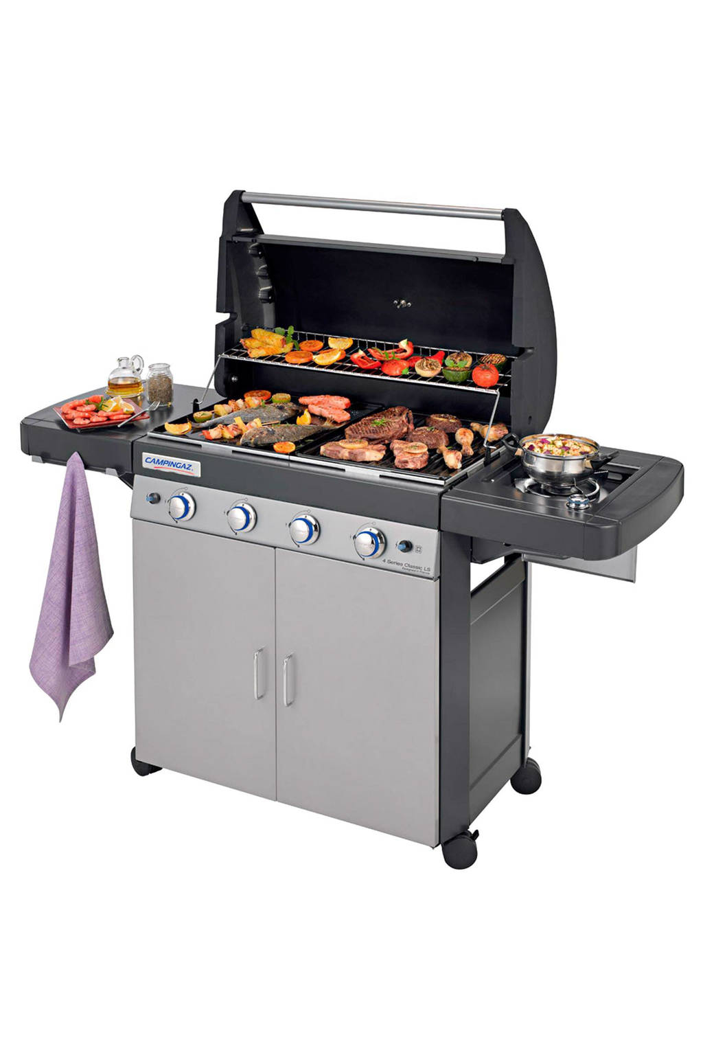 Campingaz 4 series Classic LS gasbarbecue, Grijs