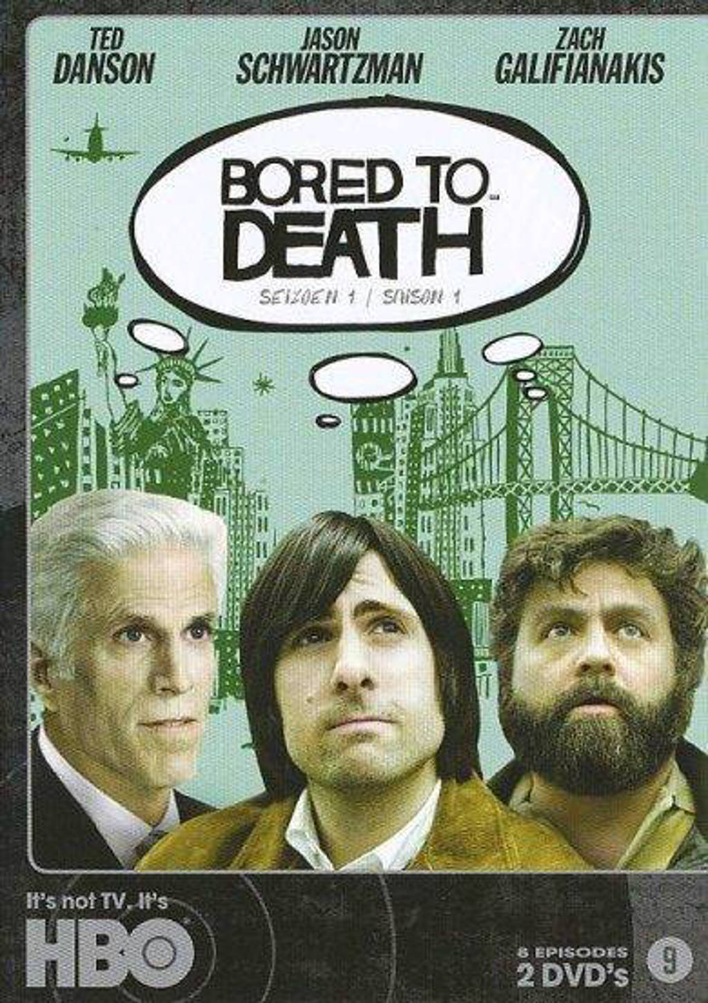 Bored to death - Seizoen 1 (DVD)