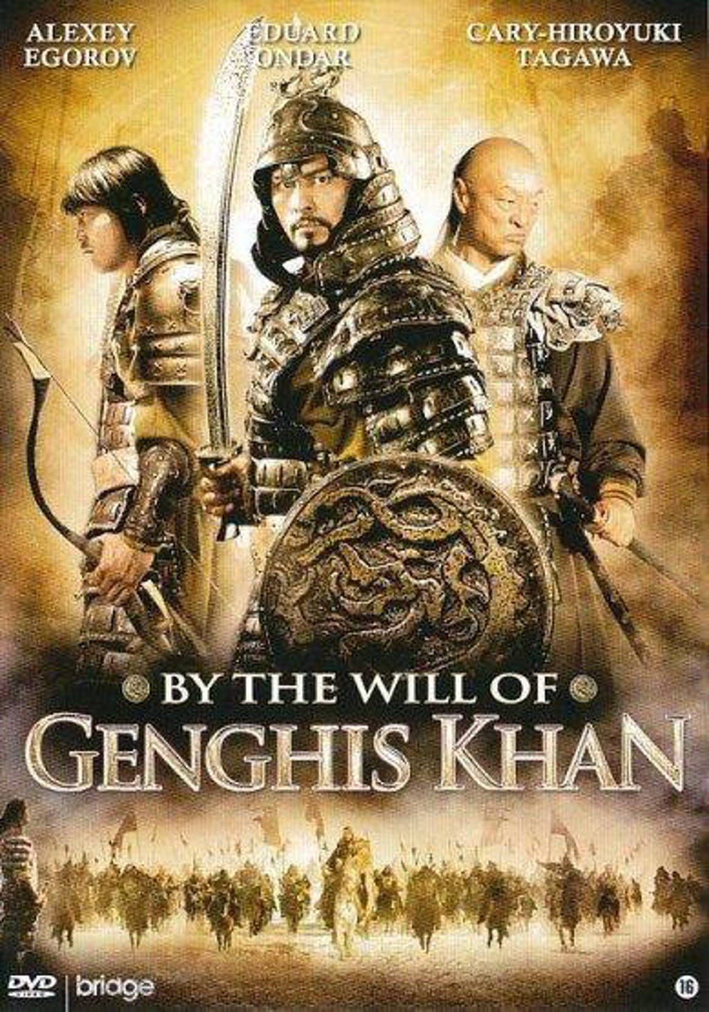By the will of Genghis Khan (DVD)