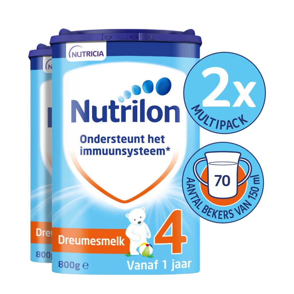 Nutrilon Dreumesmelk 4 met Pronutra (2-pack)
