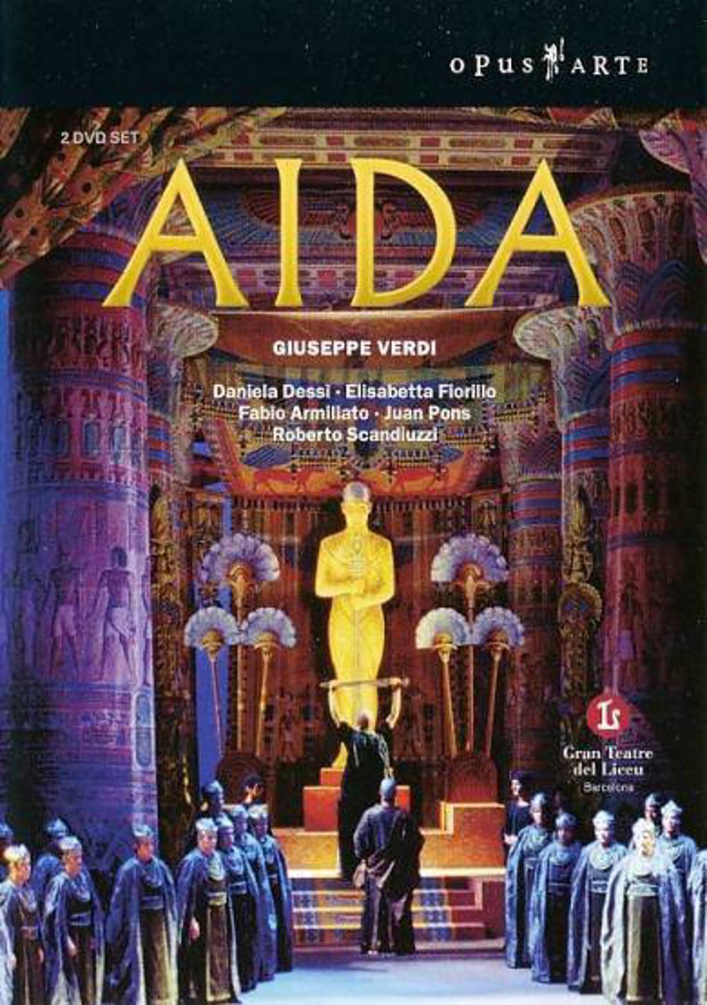Dessi/Fiorillo/Armiliato/Gran Teatr - Aida (DVD)