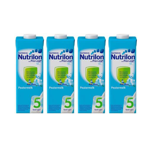Nutrilon Peutermelk 5 kant-en-klaar (4-pack) kopen