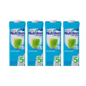 5 Peutermelk Kant En Klaar flesvoeding - 4x 1000 ml