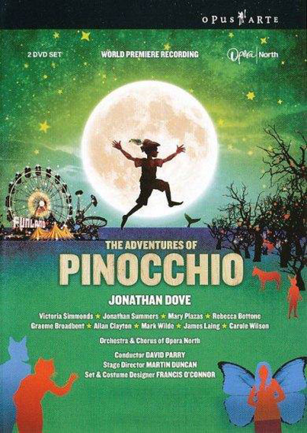 Simmonds/Summers/The Orchestra Of O - The Adventures Of Pinocchio (DVD)