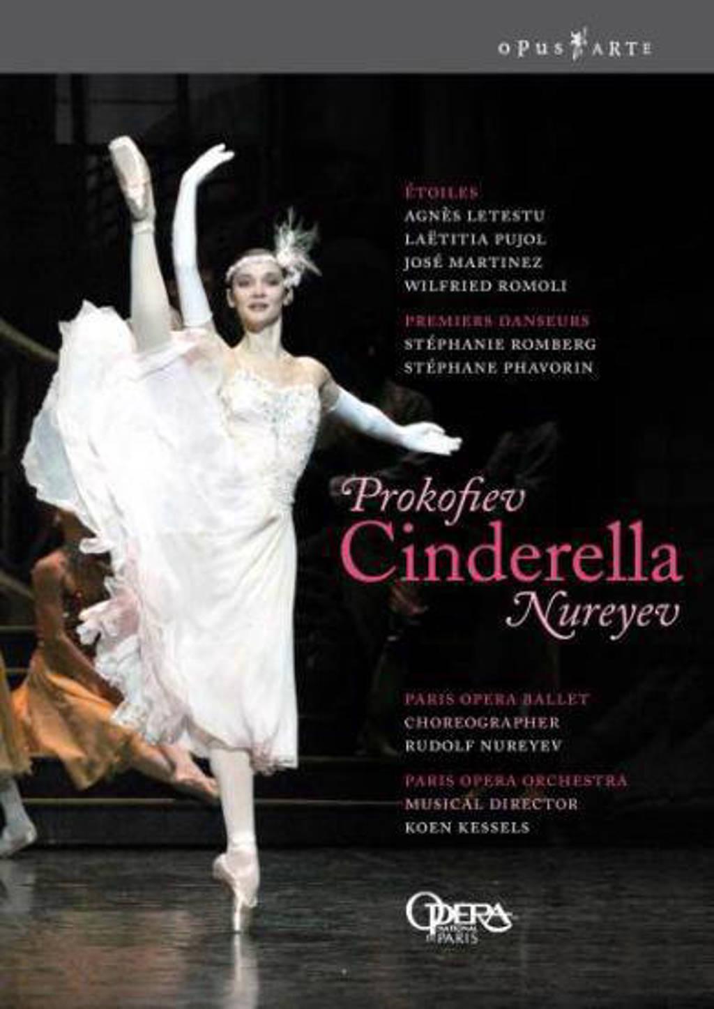 Letestu/Martinez/Orchestra Et Balle - Cinderella (DVD)