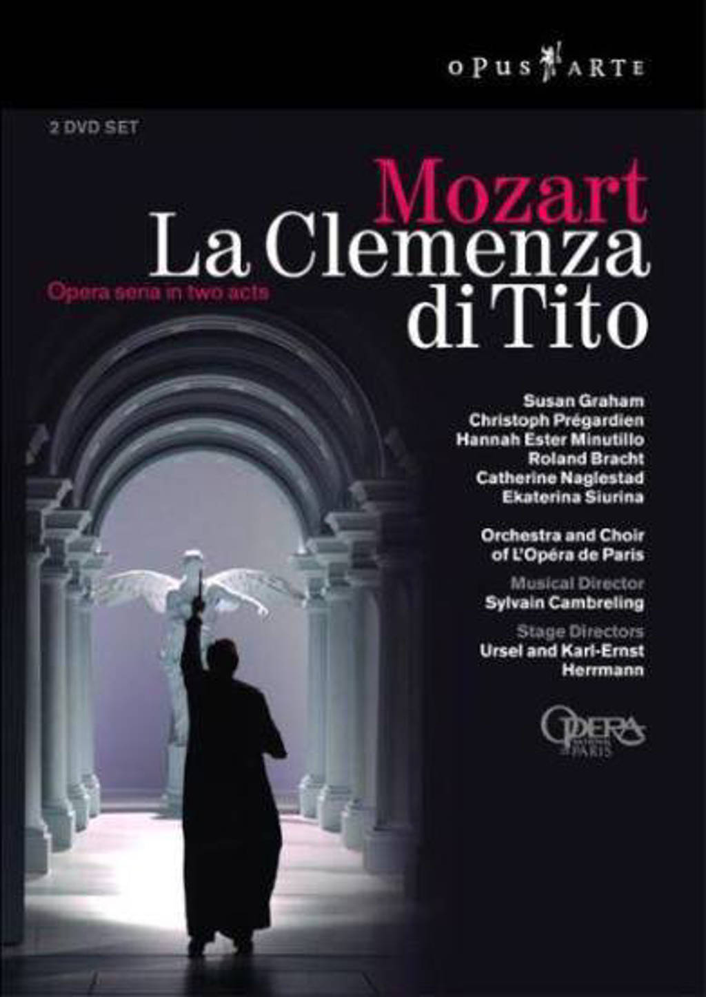 Orchestra And Chorus Of The Opera N - La Clemenza Di Tito (DVD)