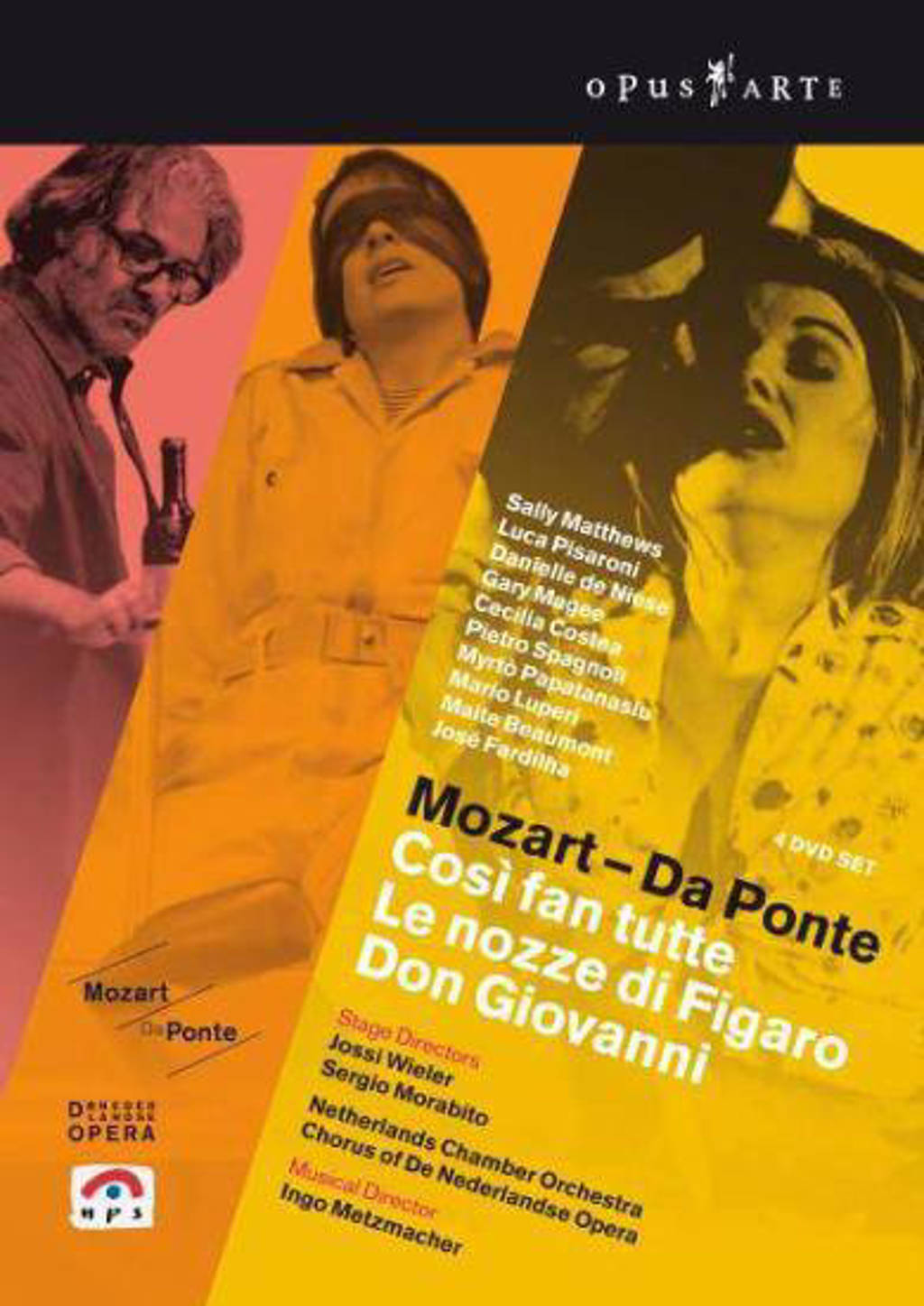 Magee/Pisaroni/Matthews/Netherlands - Cosi Fan Tutti/Le Nozze Di Figaro/D (DVD)