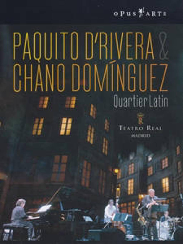 Paquita D Rivera & Chano Dominquez - Quartier Latin (DVD)