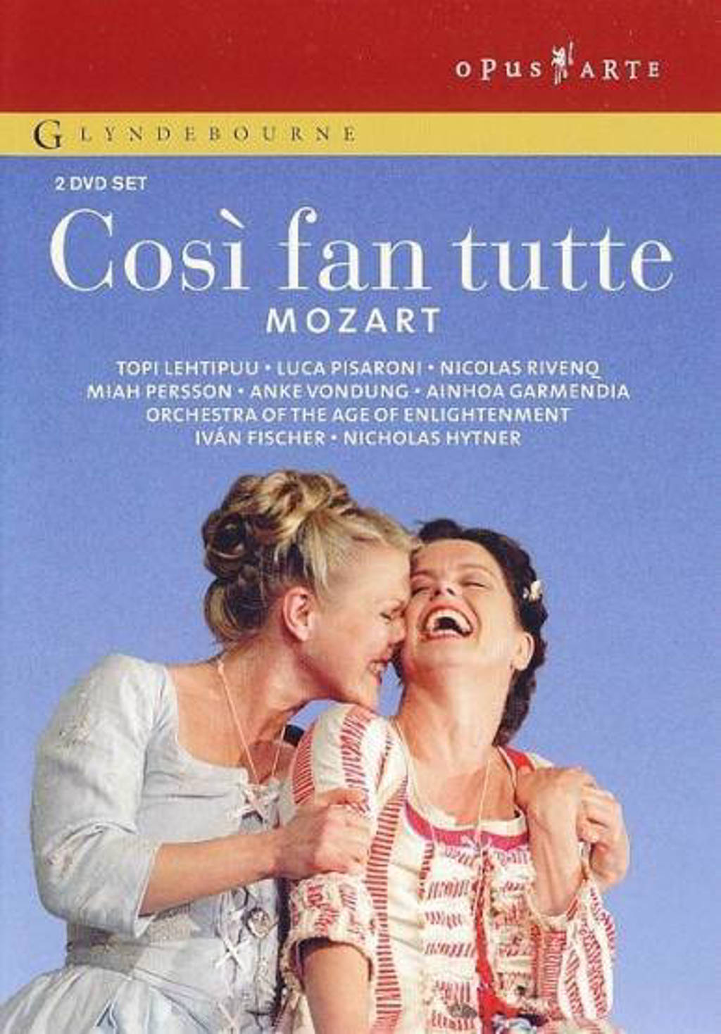 Lehtipuu/Pisaroni/Rivenq/Orchestra - Cosi Fan Tutte (DVD)