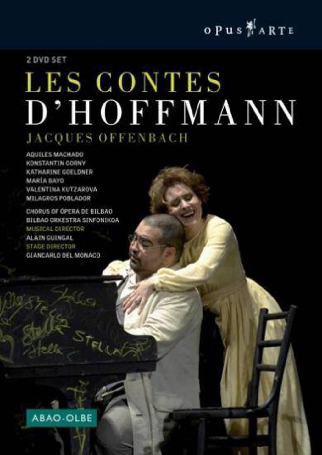 Machado/Bayo/Bilbao Orchestra Sinfo - Les Contes D Hoffmann (DVD)