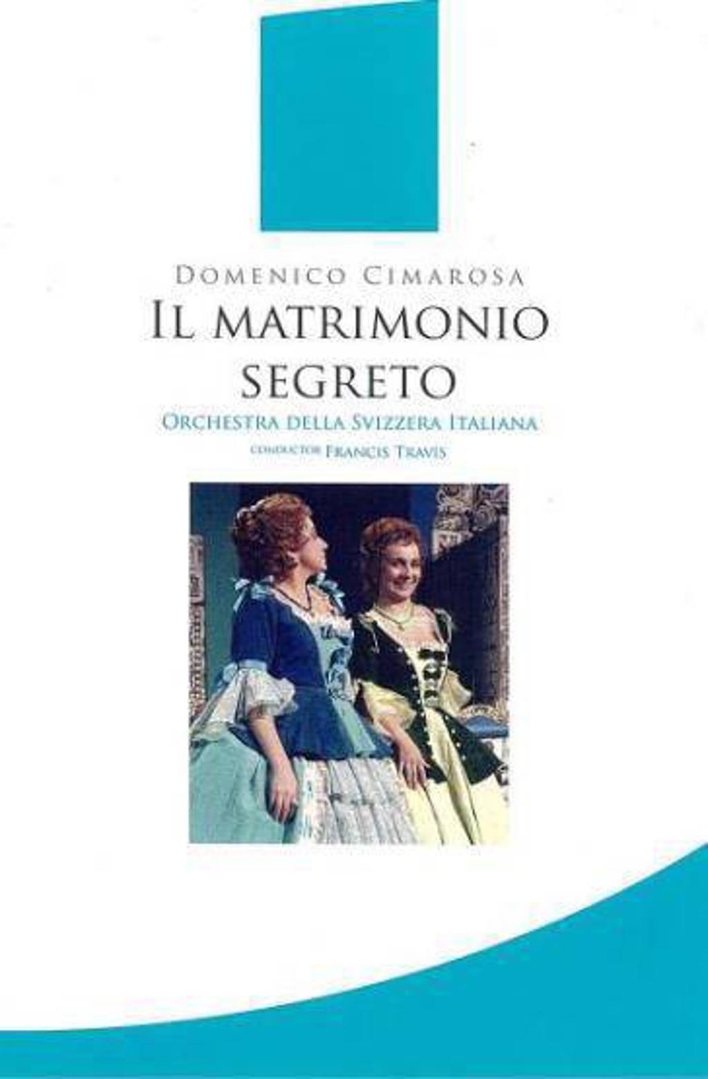 Gonzales/Coviello/Orchesta Della Sv - Il Matrimonio Segreto (DVD)