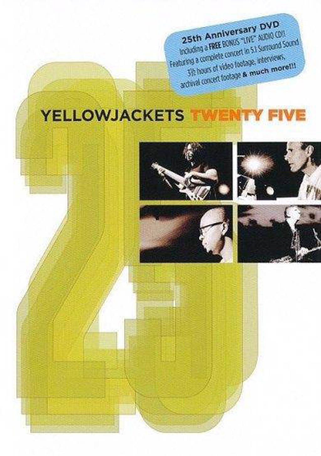 Yellowjackets - Twenty Five (DVD)