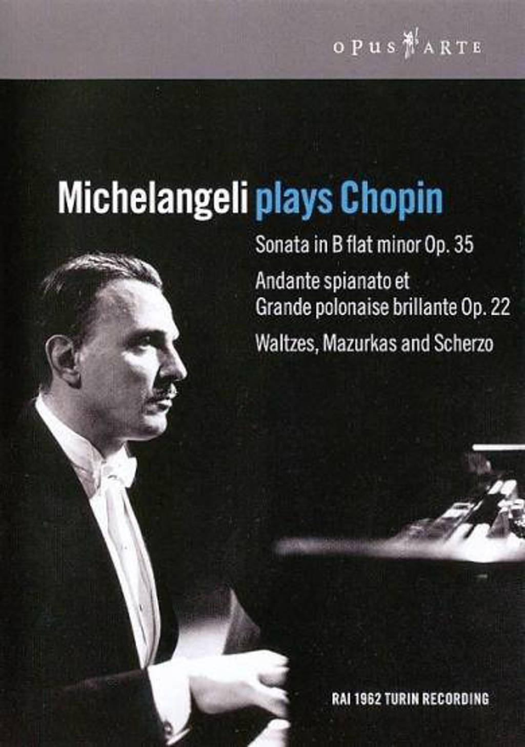 Arturo Benedetti Michelangeli - Michelangeli Plays Chopin (DVD)