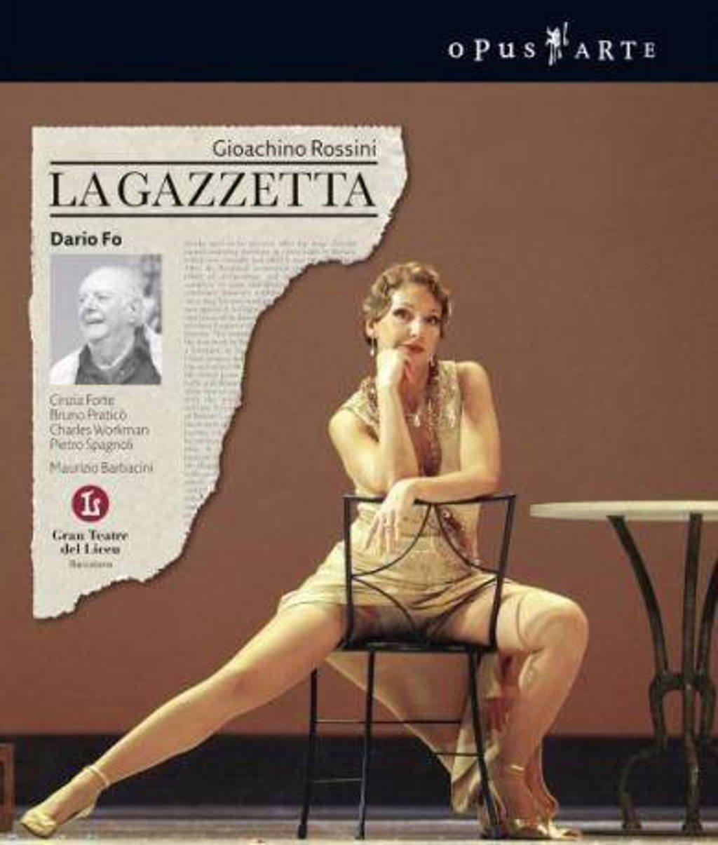 Orchestra Academy Of The Gran Teatr - La Gazzetta (Blu-ray)