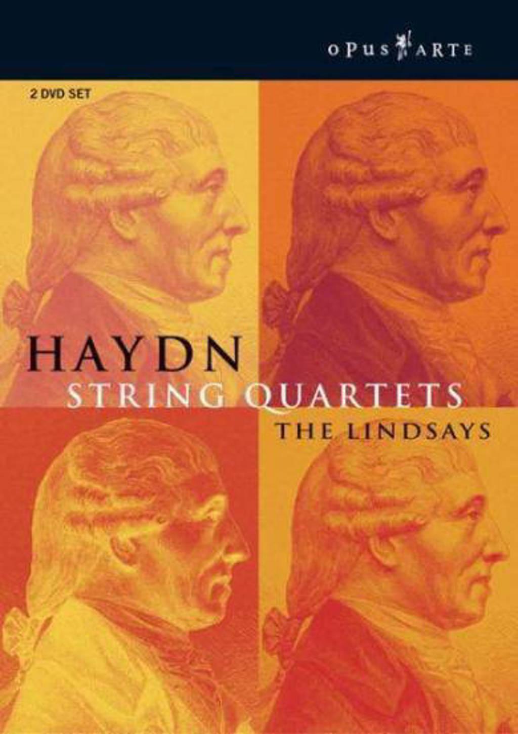 The Lindsays - String Quartets (DVD)