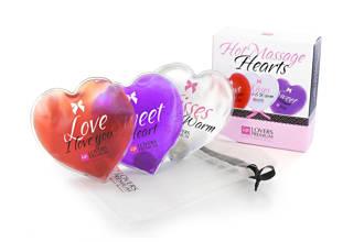 Hot Hearts massagekussentjes