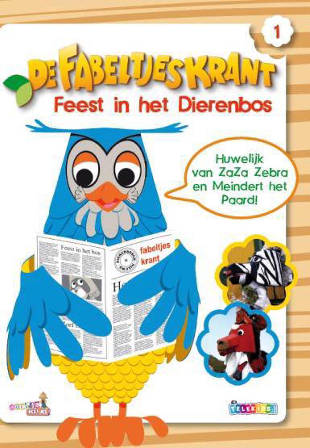 Fabeltjeskrant - Feest in het dierenbos (DVD)