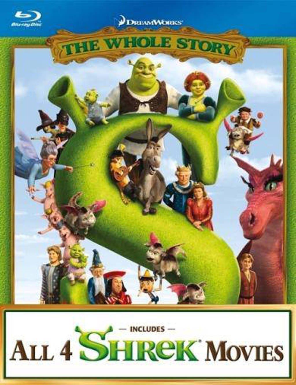 Shrek quadrilogy (Blu-ray)