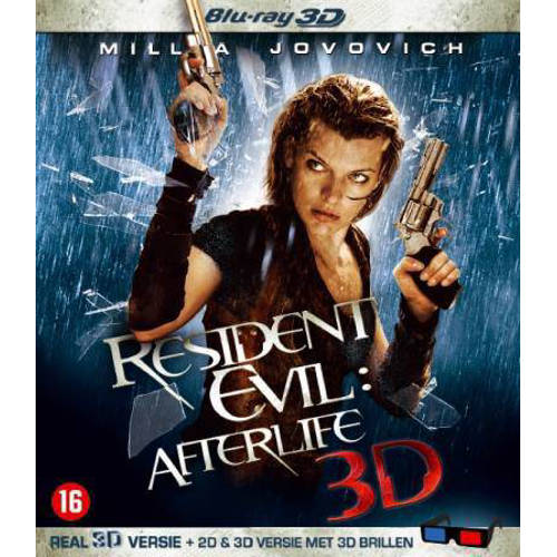 Resident Evil 4 Afterlife 3D (Blu-ray)