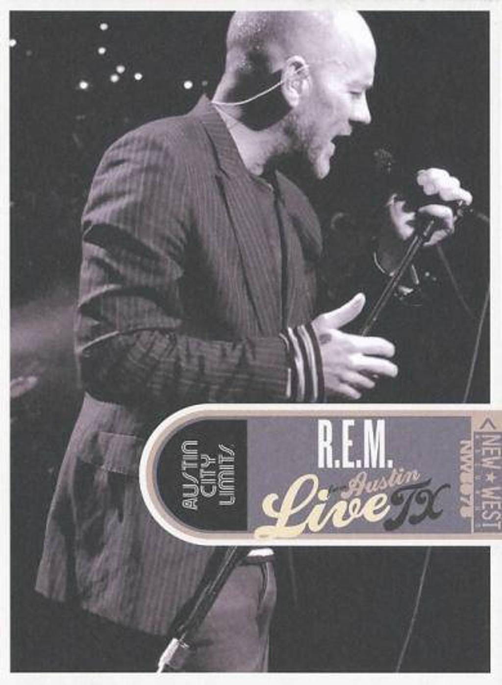 R.E.M. - Live from Austin Texas (DVD)