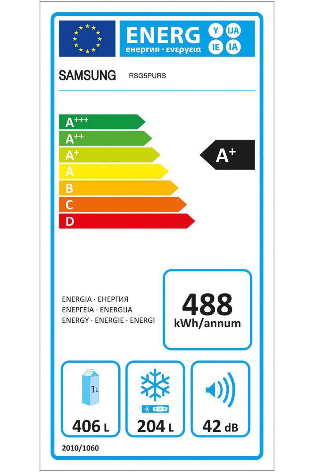 Verrassend Samsung RSG5P Amerikaanse koelkast | wehkamp GV-29