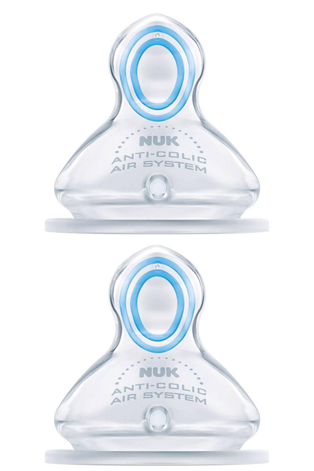 NUK First Choice Plus Orthodontische speen maat 1M (2-stuks)