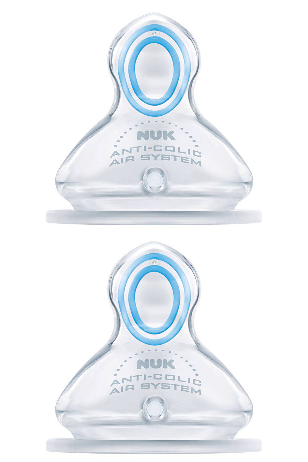 NUK First Choice Plus Orthodontische speen maat 2L (2-stuks)
