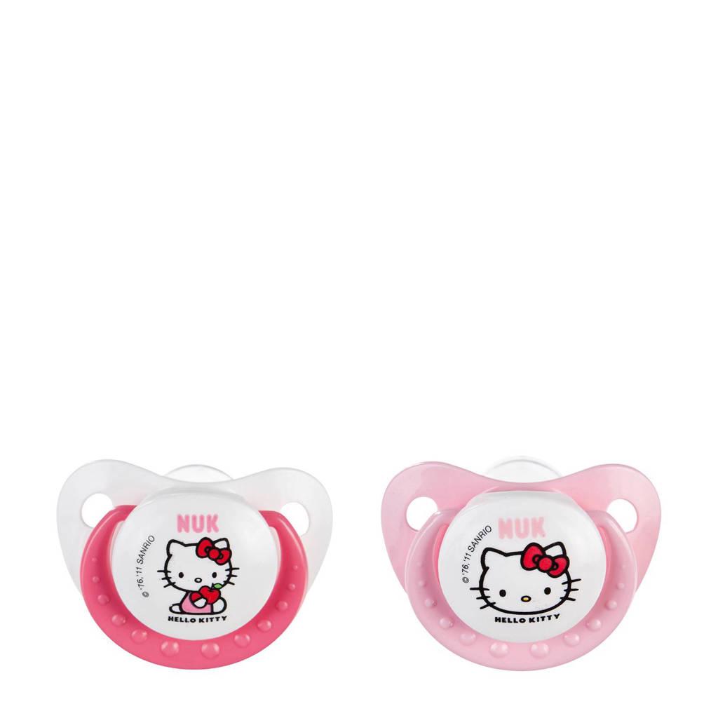 NUK Hello Kitty Trendline fopspenen maat 2 (2 stuks)