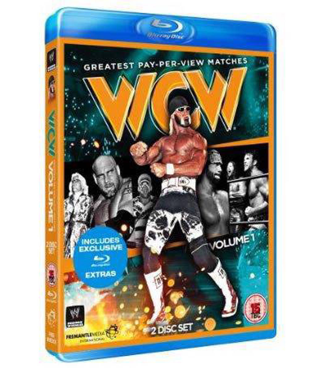 WWE - WCW greatest PPV matches vol 1 (Blu-ray)
