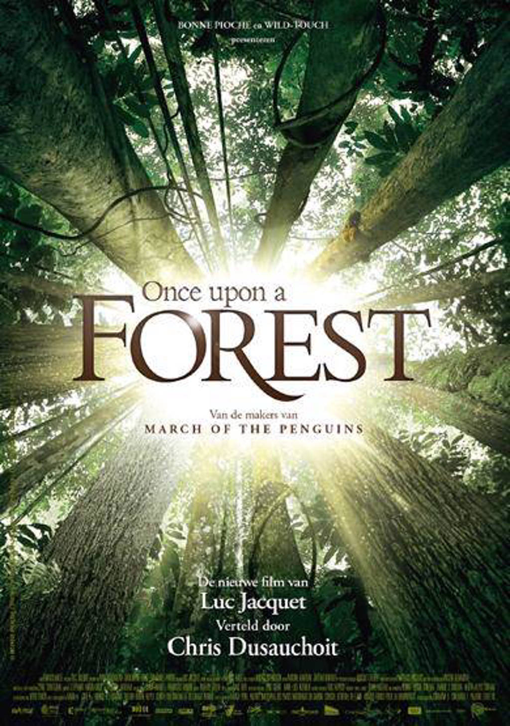 Once upon a forest (Vlaamse versie) (DVD)