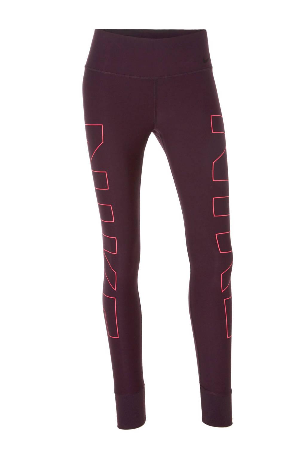 d5520a9eb65 Nike sportbroek, Donkerpaars/roze