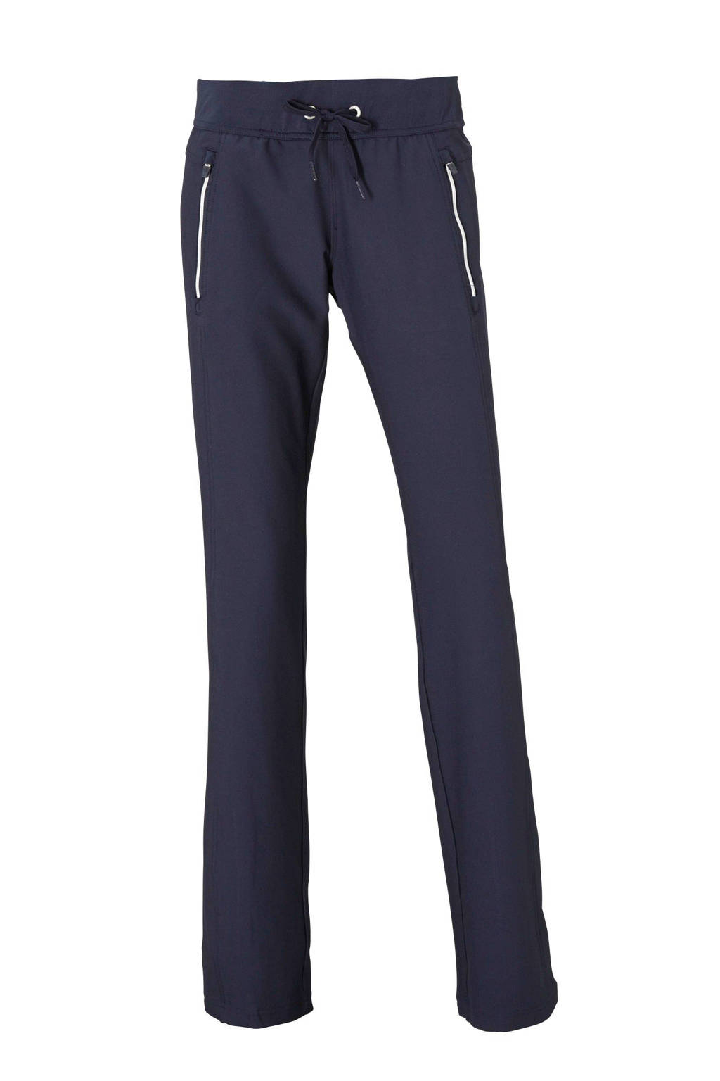 Sjeng Sports broek Gabriella donkerblauw, Donkerblauw