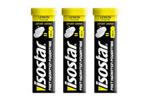 Powertabs lemon lportdrink tabletten (3 flacons)