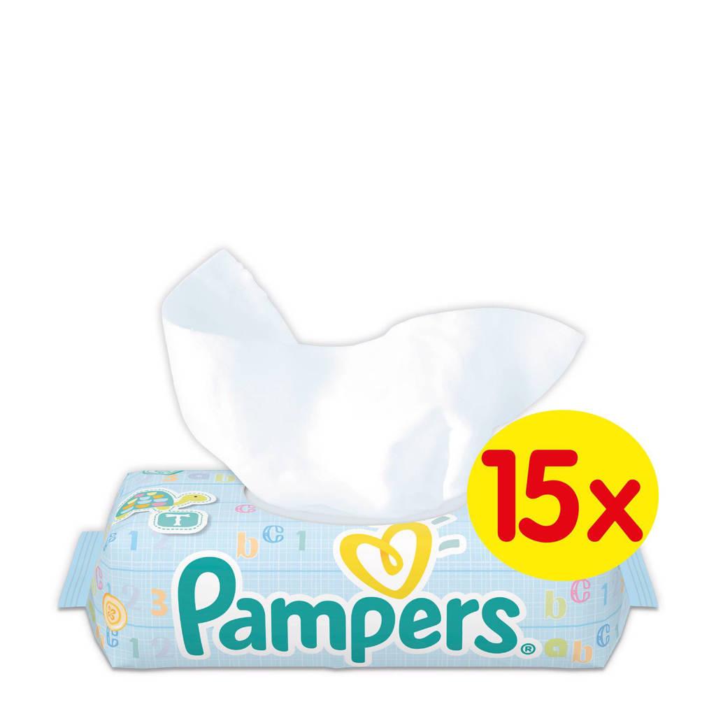 Pampers Fresh Clean 15 x 64 babydoekjes, 15 x 64 stuks