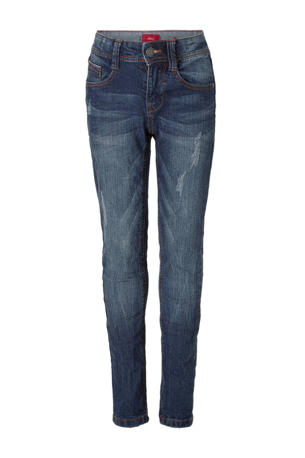 s.Oliver skinny fit jeans, Blauw