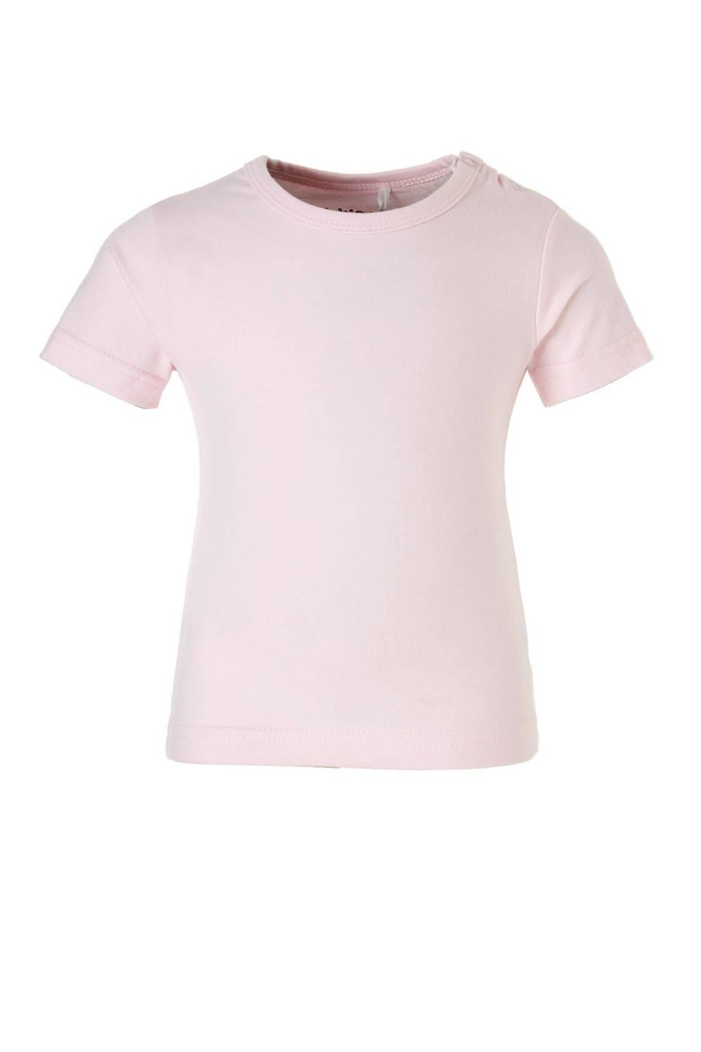 Dirkje T-shirt, Licht roze, Korte mouw