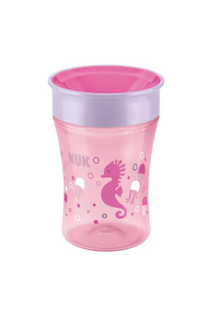 Magic Cup drinkbeker 250 ml roze