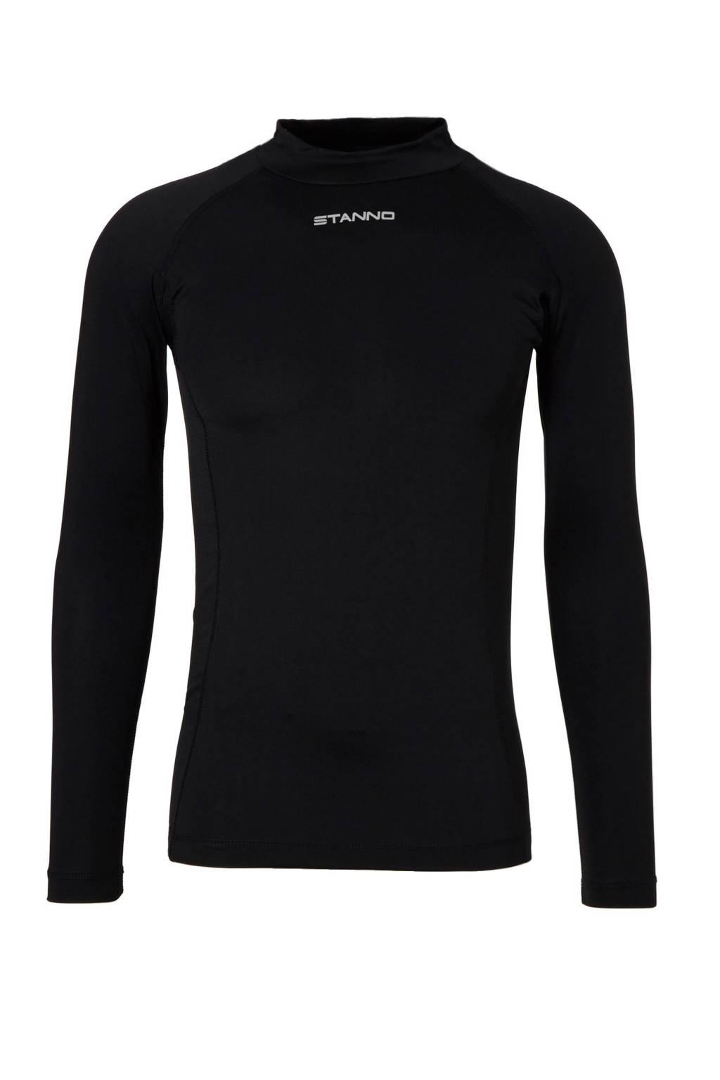 Stanno sport onder T-shirt, Zwart