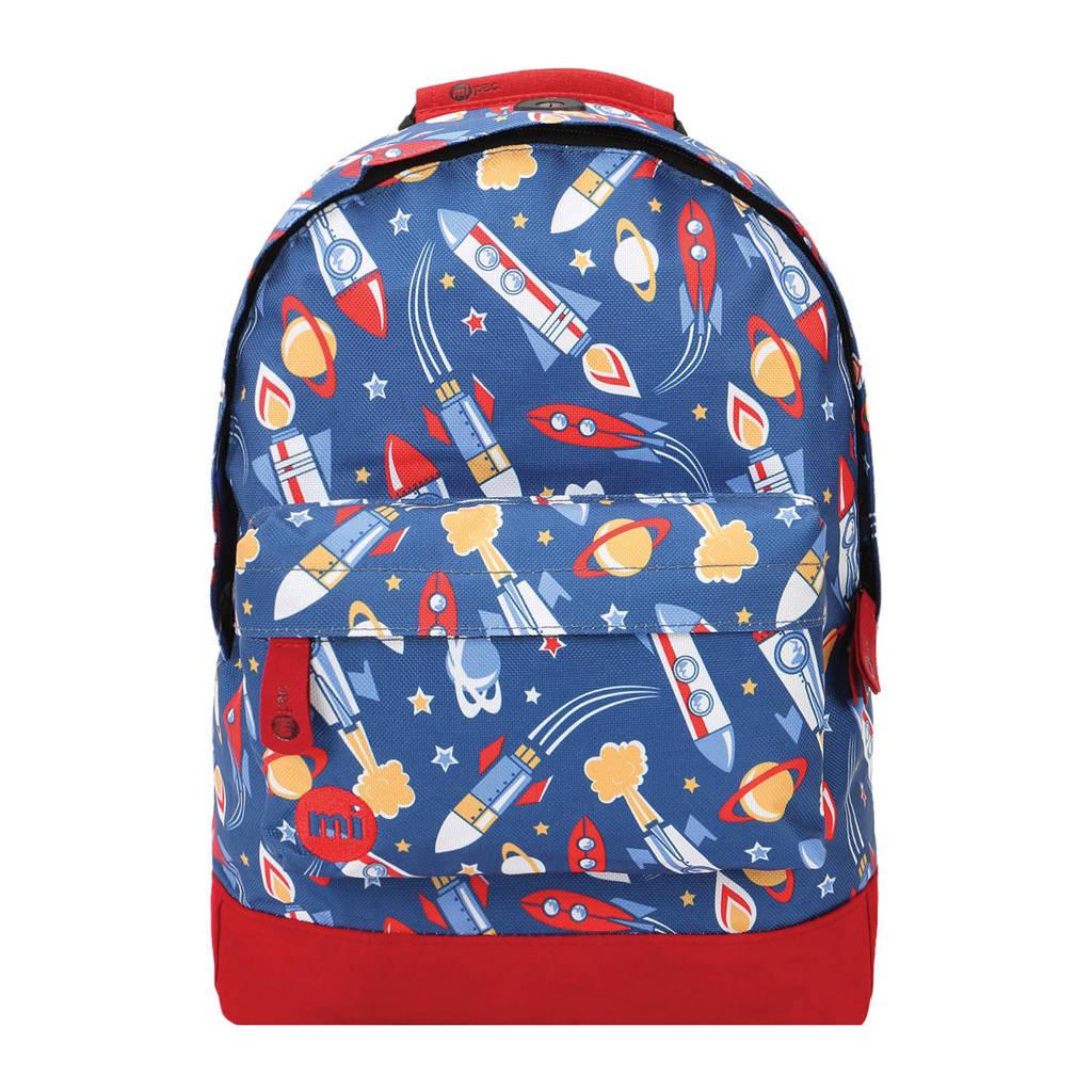 e4d1db18864 Mi-Pac Mini Space rugzak, Donkerblauw/rood/wit