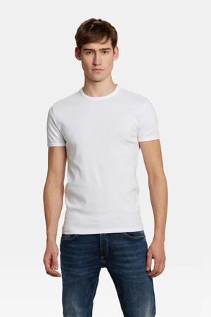 slim t-shirt wit